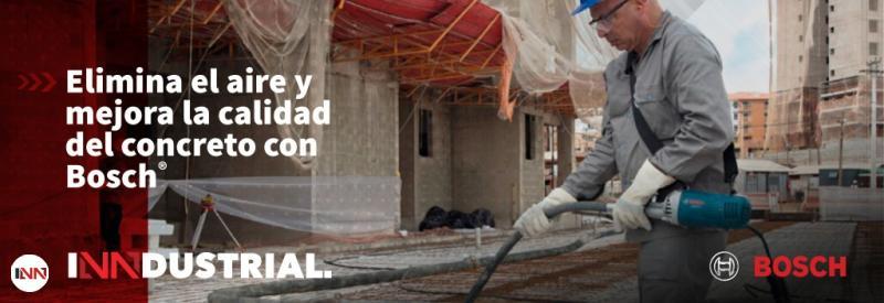 Elimina el aire del concreto sin problemas