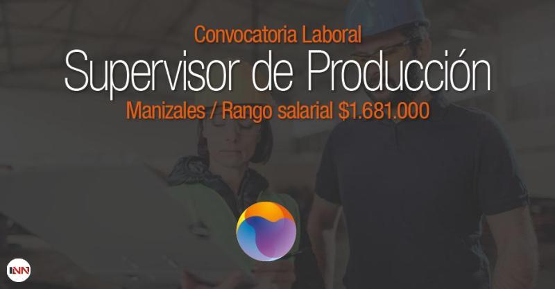 Supervisor de producción