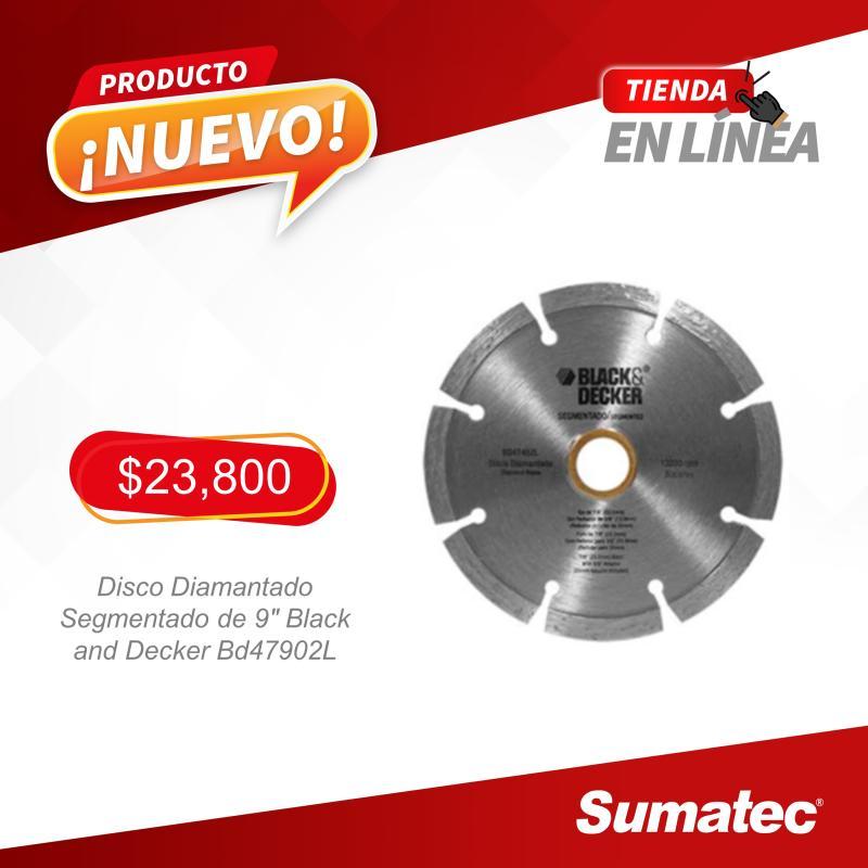 """¡Aprovecha promoción de Disco Diamantado Segmentado 9""""!"""