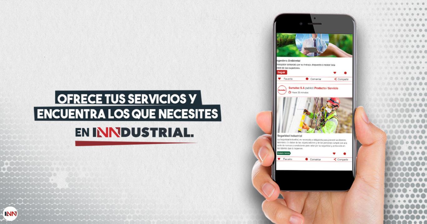 En Inndustrial podrás encontrar todo en servicios industriales