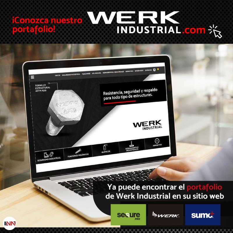 En Werk Inndustrial, contamos con productos de altos estándares de calidad.